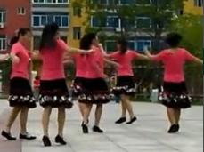 春花廣場舞大中國含分解 圈圈舞 中四步