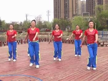 安徽綠茶飛舞廣場舞 重要的事情說三遍 背面展示 MP3音樂