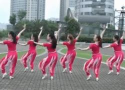 格格广场舞西域情歌正面背面演示教学