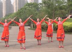 安徽綠茶飛舞廣場舞今生最美的遇見團隊演示