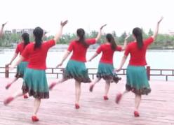 苗家戀歌廣場舞背面舞蹈視頻 安徽綠茶飛舞廣場舞