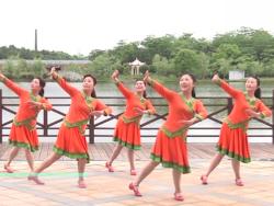 江西高安飛揚廣場舞烏蘭紅團隊演示 藍琪兒《烏蘭紅》歌詞MP3