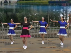 塔河蓉兒廣場舞被你迷的快失憶正反面含教學 演唱:馬健濤