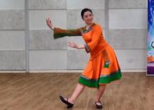 藏族舞蹈吉祥谣 正反面演示教学 编舞孔雪