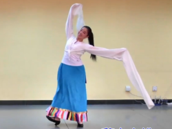 藏族舞蹈《遇上你是我的缘》正反面演示教学