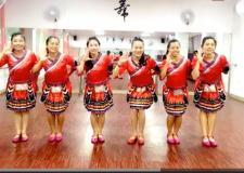 凤凰香香广场舞溜溜的山寨溜溜的醉含教学 苗族舞蹈风格广场舞