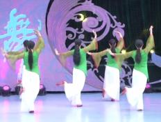 張春麗廣場舞人間西湖背面舞蹈視頻
