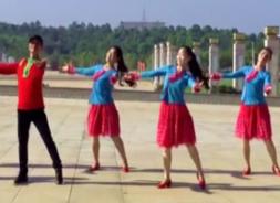阿中中廣場舞朋友情誼長舞蹈視頻 梅梅翠翠廣場舞朋友情誼長