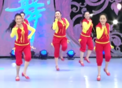 立华广场舞主要是看气质正反面演示教学 演唱:苏勒亚其其格