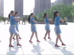 安徽綠茶飛舞廣場舞草原情最重 簡單歡快的中老年廣場舞