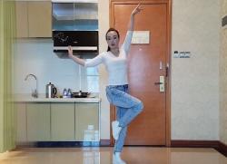 格格广场舞鸳鸯谷 含教学和背面演示 唯美动人的古典舞