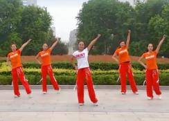 舞动旋律2007健身队广场舞让我疯狂正反面含教学 爵士舞