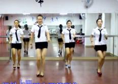 凤凰香香广场舞心里梦里都是你正面背面演示教学 现代舞