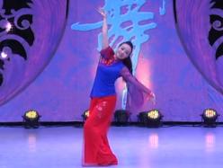 格格广场舞鸳鸯谷正面演示 舒缓柔美的中老年广场舞