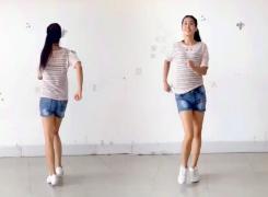 阿采广场舞大约在冬季 DJ步子舞对跳 含教学