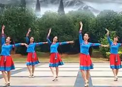 艺莞儿广场舞绑金麦朵正反面含教学 藏族舞蹈