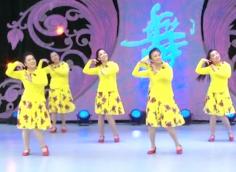 立華廣場舞親愛的團隊正面演示 滕州廣場舞協會立華明星隊