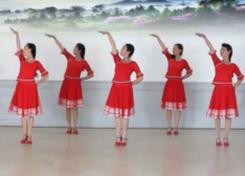 应子广德露晨舞蹈队广场舞天上凉都 含教学