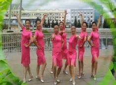 塔河蓉兒廣場舞引吭高歌含教學 32步簡單健身舞