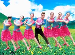 廖弟广场舞米亚罗公主 藏族舞蹈 歌手:阿斯根