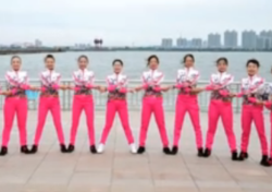 応子广场舞青春波尔卡教学 大庆东城领秀舞队团队演示