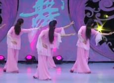 誰懂女人花廣場舞背面舞蹈視頻 安徽綠茶飛舞廣場舞團隊演示