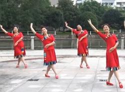 西湖莉莉广场舞那一天 正面背面演示教学