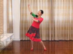 応子广场舞天上凉都教学版 个人版 演唱:彝人传奇