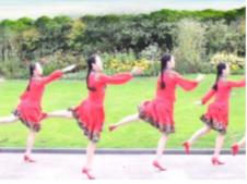 風一吹愛就來張春麗廣場舞正背面演示教學 團隊舞蹈視頻