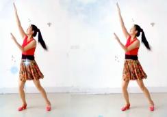 阿采广场舞原创《爱你一生》祁隆邀您来跳舞 含教学和背面 中老年广场舞