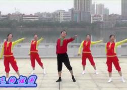劉峰廣場舞我和騰飛的祖國團隊舞蹈視頻