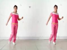 阿采广场舞DJ乖乖乖 含教学和背面 32步步子舞