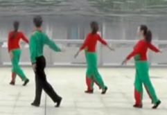 劉峰廣場舞幸福山歌背面演示教學
