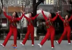 刘荣广场舞开门红正面背面演示教学 唯莎《开门红》歌词MP3下载