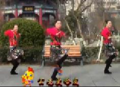 刘荣广场舞《鸡鸡复鸡鸡》