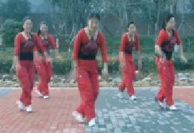 龍都舞動晨韻原創48步步子舞 中國歌最美
