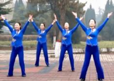 云裳广场舞福从中国来正反面演示教学 乌兰图雅《福从中国来》歌词MP3