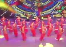 紫蝶踏歌广场舞哎呀哎呀 舞台演示 印度舞