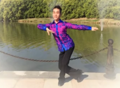 祥云廖弟广场舞背面演示与动作分解 2017年最新广场舞教学