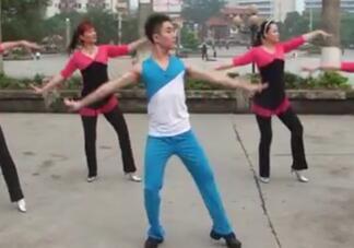 广西廖弟健身广场舞 收获爱情 正背表演与动作分解