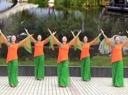 江西高安飛揚廣場舞中華漢字 京劇唱腔