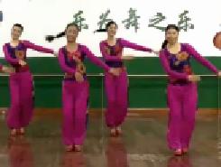 江西鄱阳春英广场舞《过年了》分解教学下载