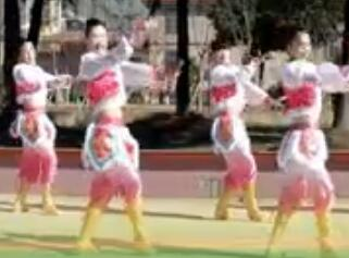 天姿广场舞《马背上的萨日朗》 附舞曲下载