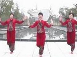 动动广场舞《开门红》原创含教学 附舞曲和视频下载