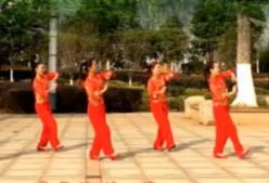 鄱阳春英广场舞拜新年