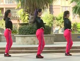 【我爱风吹过】 杨丽萍广场舞DJ腰腹瘦身操