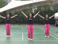重庆叶子广场舞《唱给朋友的歌》原创附教学