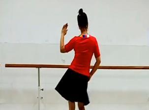 刘荣广场舞《维西谣》背面演示与分解教学