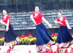 刘荣广场舞《维西谣》原创附教学