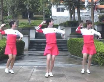 动动广场舞《花儿为你开 》贺宣单人广场水兵舞